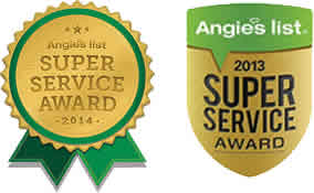 Super Service Award Angie's List NJ